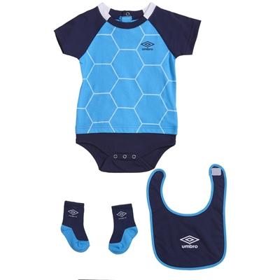 Umbro Ball Creeper, Bib and Socks Set - 3-Piece, Short Sleeve (For Infants)