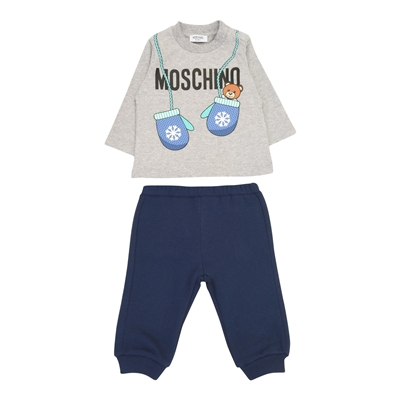 MOSCHINO BABY Fleece set 34779570TD