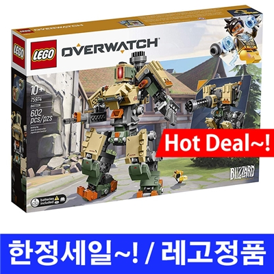 LEGO / 레고 오버워치 바스티온 / Overwatch 75974 Bastion Building Kit
