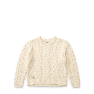 Polo Ralph Lauren Aran Wool-Blend Sweater