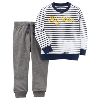 Carters 2-Piece French Terry Pullover & Jogger Set
