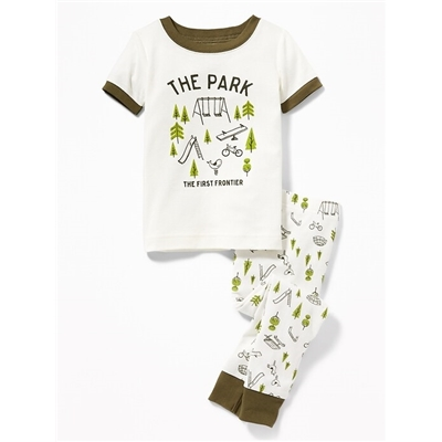 Oldnavy 2-Piece The Park Sleep Set For Toddler & Baby Hot Deal