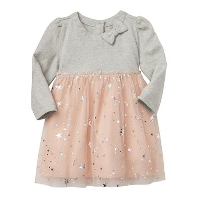 Gap Metallic star tutu dress