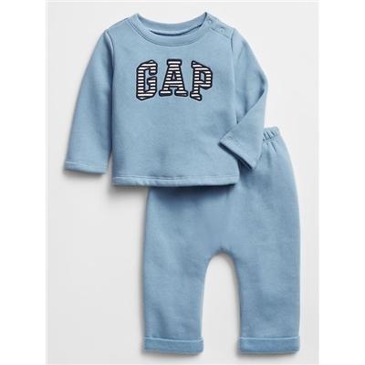 Baby Gap Logo Pull-On Pants Set