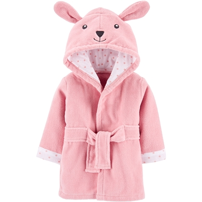 Carters Bunny Hooded Terry Robe