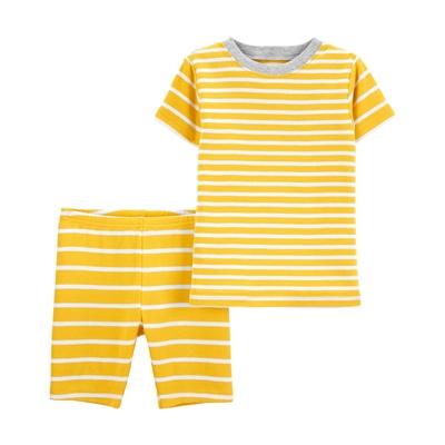 Carters 2-Piece Striped 100% Snug Fit Cotton PJs