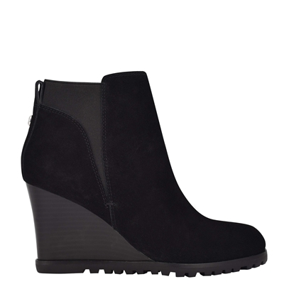 NINEWEST Curtis Wedge Booties