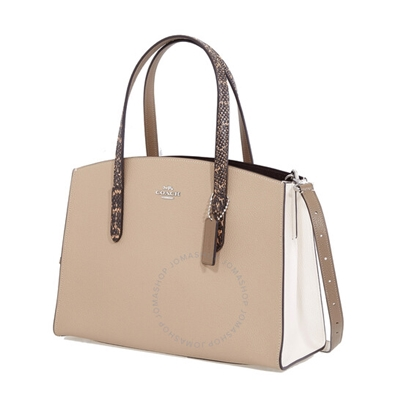 Coach Ladies Colorblock Snakeskin Detail Charlie Carryall Bag