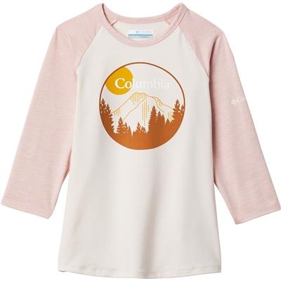 Columbia Outdoor Elements 3/4-Sleeve Shirt - Girls