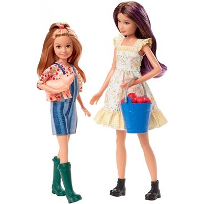 Barbie Sweet Orchard Farm Skipper and Stacie Dolls