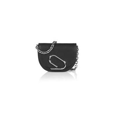 3.1 Phillip Lim Mini Alix Leather Card-Case-On-Chain