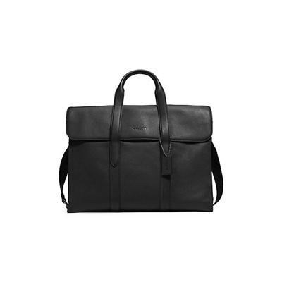 Coach Pebbled Metro Leather Shoulder Bag