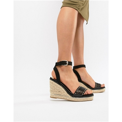 River Island wedges with laser cut details