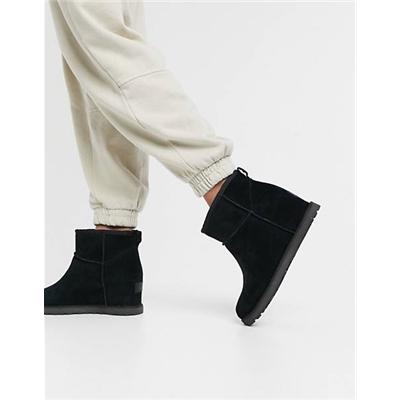 UGG Classic Femme Mini wedge heel boots in black