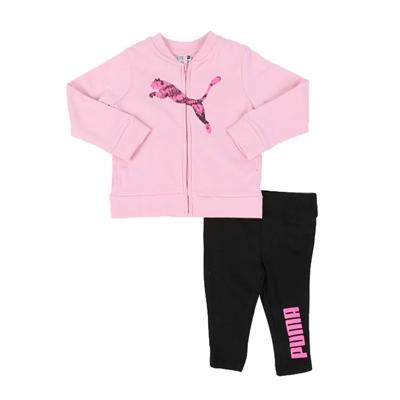 Puma 2 pc fleece zip jacket & leggings set (infant)