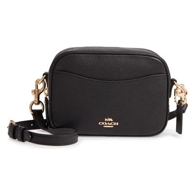 COACH Pebble Leather Camera Bag