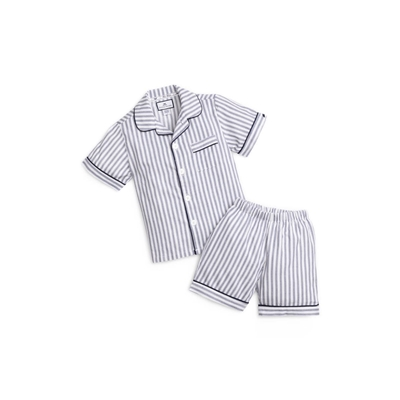 PETITE PLUME Stripe Short Two-Piece Pajamas