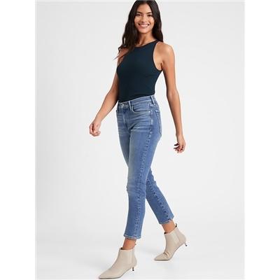 Bananarepublic High-Rise Straight Jean