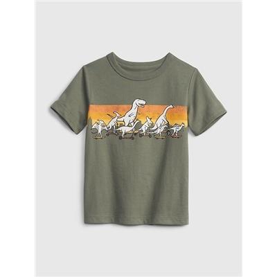 Gap Toddler 100% Organic Cotton Mix and Match Graphic T-Shirt