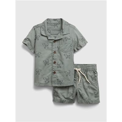 Gap Baby Critter Graphic Outfit Set