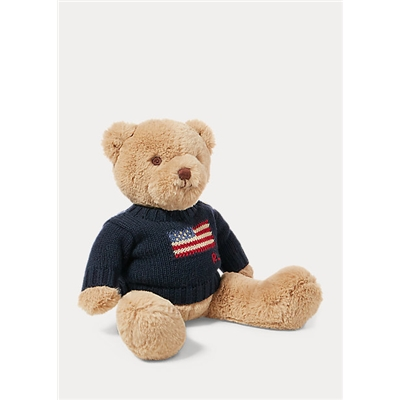 Polo Ralph Lauren Small Flag-Sweater Polo Bear