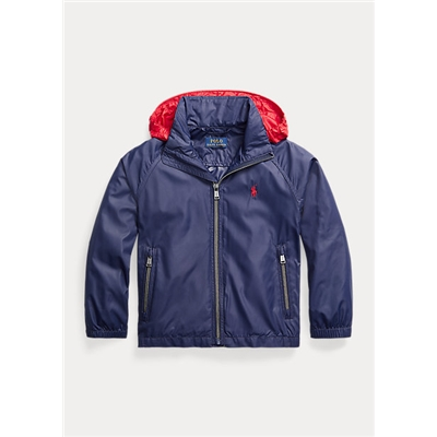 Polo Ralph Lauren Water-Resistant Packable Hooded Jacket