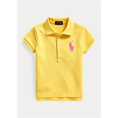 Polo Ralph Lauren Big Pony Stretch Mesh Polo Shirt
