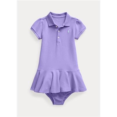 Polo Ralph Lauren Pique Polo Dress Bloomer