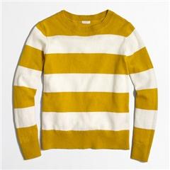 Jcrew Wide-stripe sweater