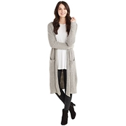 Mud Pie Gray Anniston Cardigan in Individual Sizes