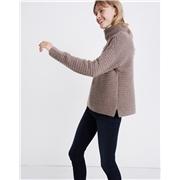 Madewell Belmont Mockneck Sweater in Coziest Yarn