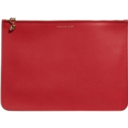 Alexander McQueen Made in Italy Zip Pouch - Leather (For Women)