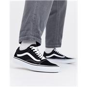 Vans Old Skool Sneakers In Black/ White