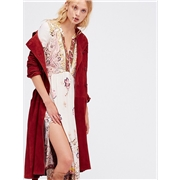 FreePeople Suede Trench