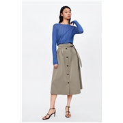 Zara BUCKLE SKIRT