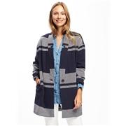 Oldnavy Twill Cardi-Coat for Women
