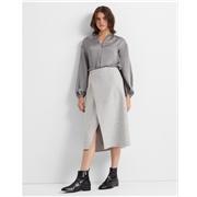 Clubmonaco A-line Cutaway Skirt