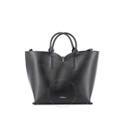Furla Ribbon Black Medium Tote