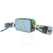 Marc Jacobs The Snapshot Small Camera Bag- Misty Blue Multi