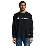 Champion Mens Graphic Classic Jersey Ls Tee
