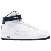 Nike Air Force 1 High - Mens / White/Navy