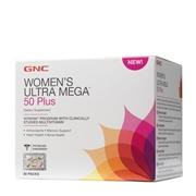 GNC Womens Ultra Mega 50 Plus, 30 Packs