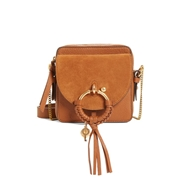 SEE BY CHLOEE Small Joan Suede & Leather Crossbody Bag
