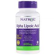 Natrol, Alpha Lipoic Acid, Time Release, 600 mg, 45 Tablets