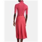 See By Chloe Long-sleeved ribbed cotton-poplin shirt dress