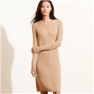 Polo Ralph Lauren Cable-Knit Sweater Dress