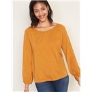 American Eagle AE V-Neck Cropped Cable Knit Sweater