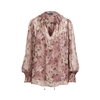 Polo Ralph Lauren Floral Silk Blouse