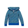 Polo Ralph Lauren Floral Cotton Terry Hoodie