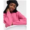 ASOS DESIGN oversized chunky crew neck sweater